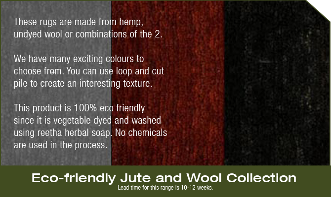 Eco Friendly Jute Rugs
