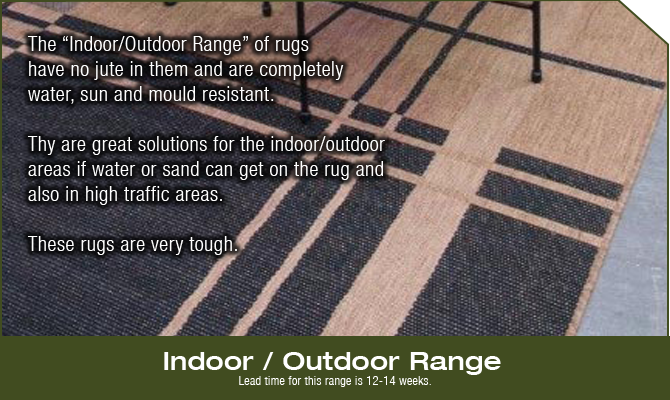 Indoor Outdoor Rug Range