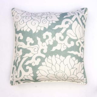 Blossom Cushion - Duckegg