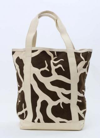 Large Tote Bag Coral Brown