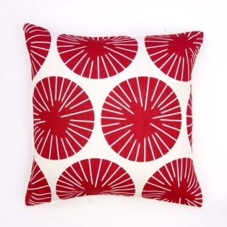 Dervish Cushion - Scarlett