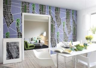 Destinations, Manhattan - Wallpaper by Danko Design (P110902-6)