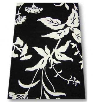 Spectrum II Floral Black & White