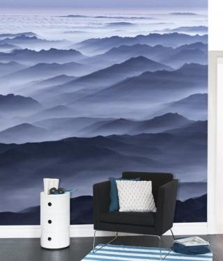 Close to Heaven - Blue Photo Wall Art