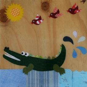 Croc Wall Art