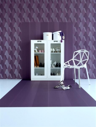 Dimensions Collection, Cube Wallpaper by Danko Design
