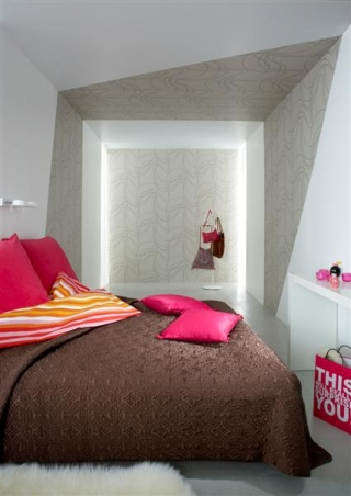 Dimensions Collection, Twist Wallpaper (2628-2630) by Danko Design
