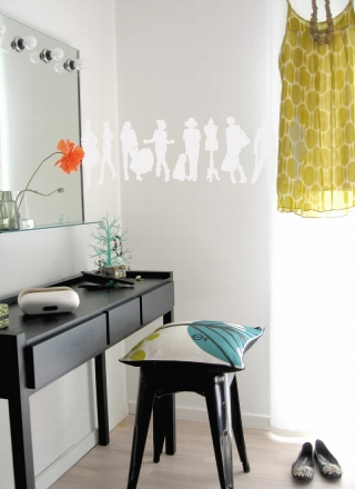 Fashion - Wallsticker (White)