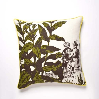 Herbarium Grass Cushion