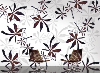 Chestnut Leaves Wallpaper by Danko Design