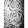 Fantasy Carved Rose - Black & White