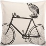 Owl/Bike (46cm) - Black