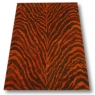 Zebra - Rust & Dark Brown