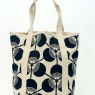 Large Tote Bag Kabuki - Black
