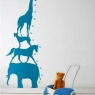 Wall Sticker - Animal Tower