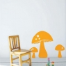 Ferm Living Wall Sticker - Mushroom
