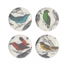 Orinthology - Set of 4 Dessert Plates