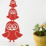 Three Owls Wall Sticker